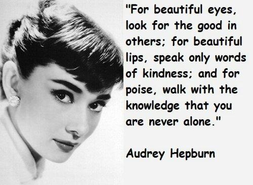 Famous Audrey Hepburn Quotes