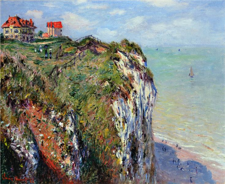 cliff-at-dieppe-monet