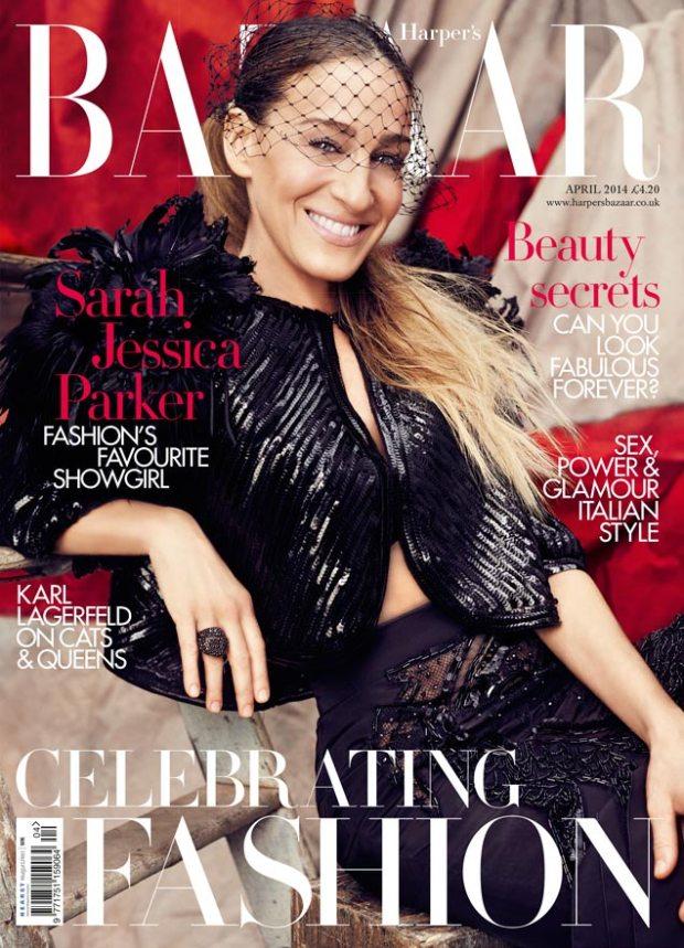 Sarah Jessica Parker for Harper's Bazaar
