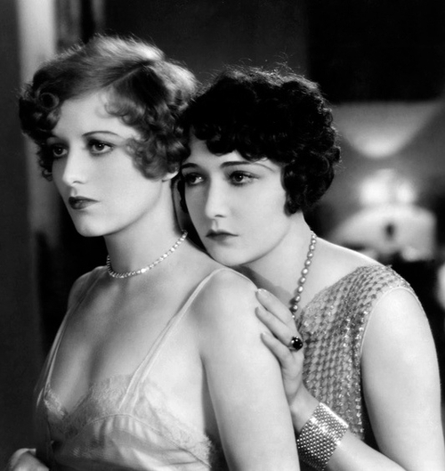 Joan Crawford and Dorothy Sebastian in Our Dancing Daughters