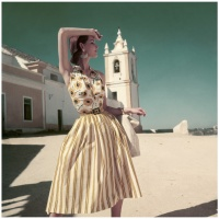 Dovima for Vintage Vogue