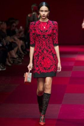 Dolce & Gabbana at MFW8