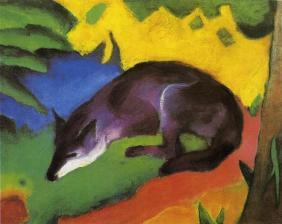blue-fox-Franz-Marc