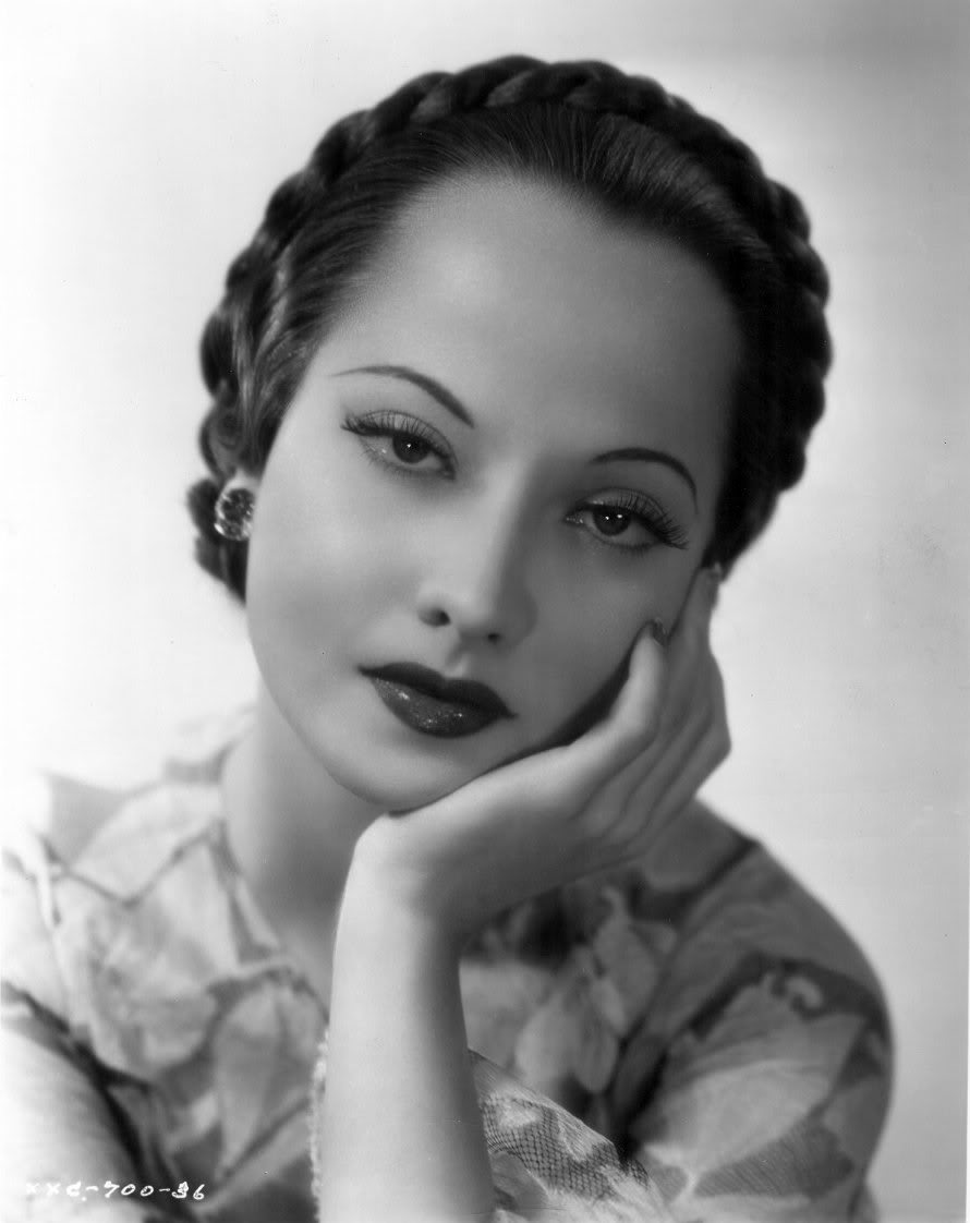 Merle Oberon Classic Hollywood Icon Old Movie Actresses