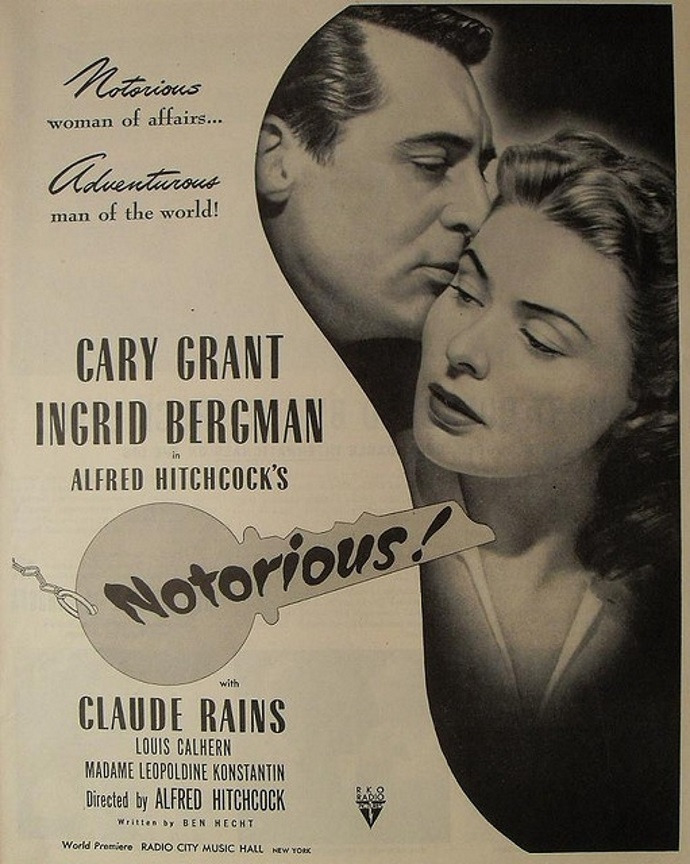 Image result for notorious poster