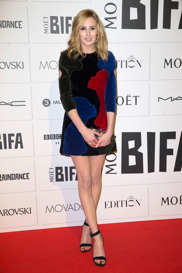 Laura Carmichael in Christopher Kane