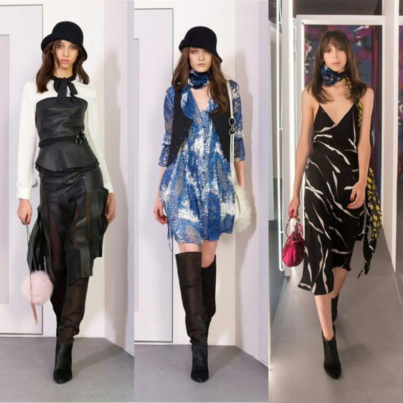 Diane von Furstenberg at New York Fashion