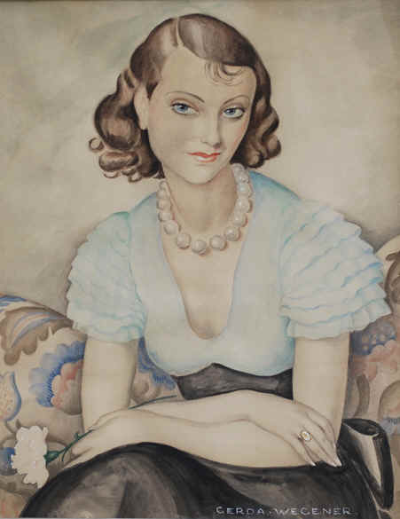Self Portrait by Gerda Wegener