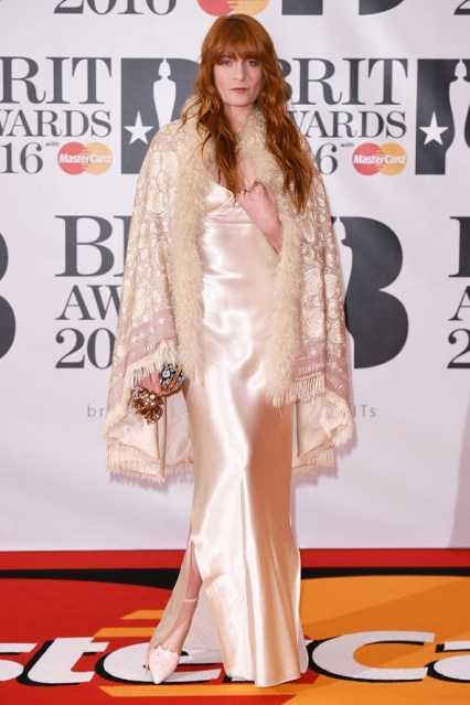 Florence Welch in Calvin Klein Collection