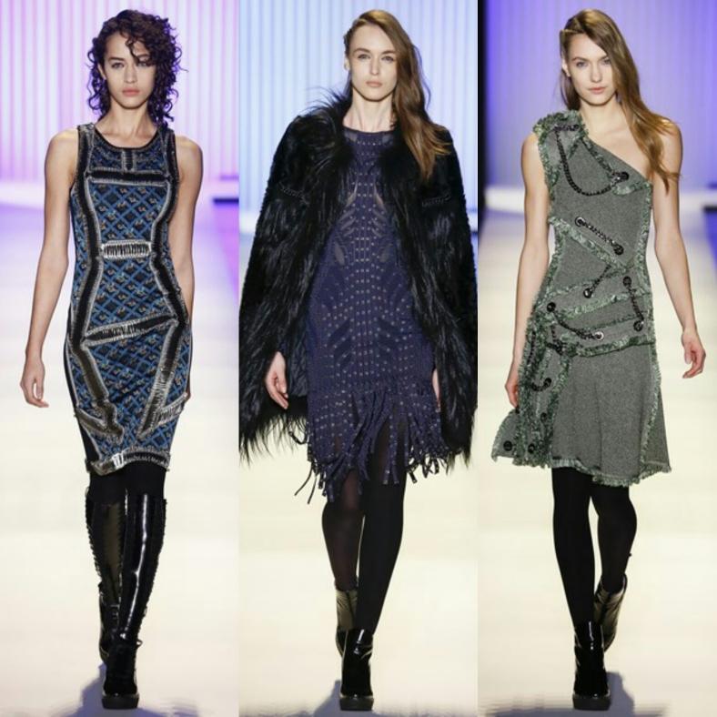 Herve Leger at New York Fashion Week