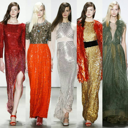 Jenny Packham at New York Fashion Week