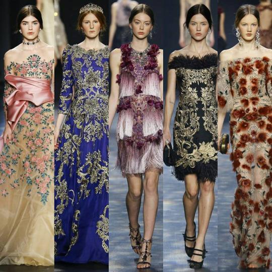 Marchesa at New York Fashion Week