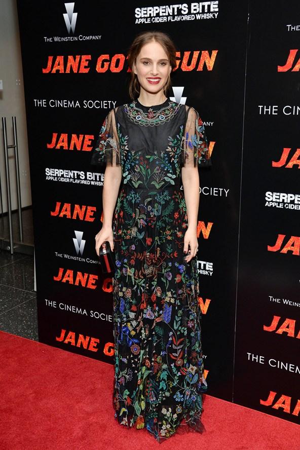 Natalie Portman in a Valentino gown