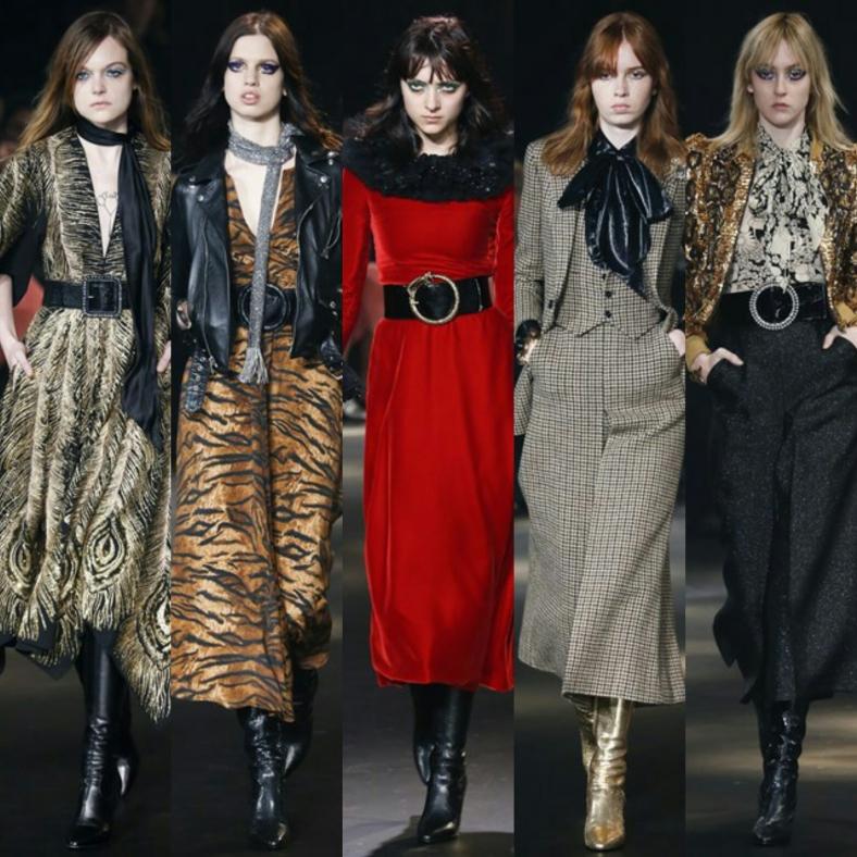 Saint Laurent at New York Fashion Week