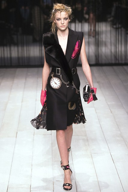 Alexander McQueen at London Fashion Week
