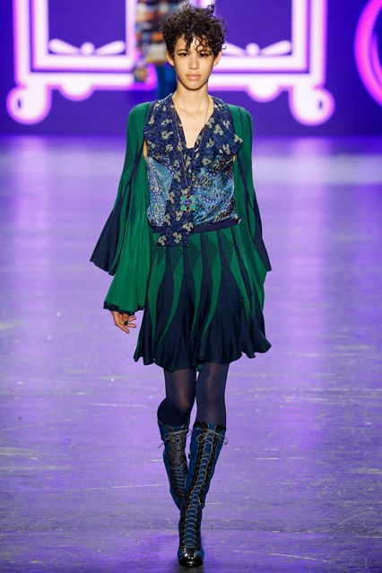 Anna Sui show at New York Fashion Week