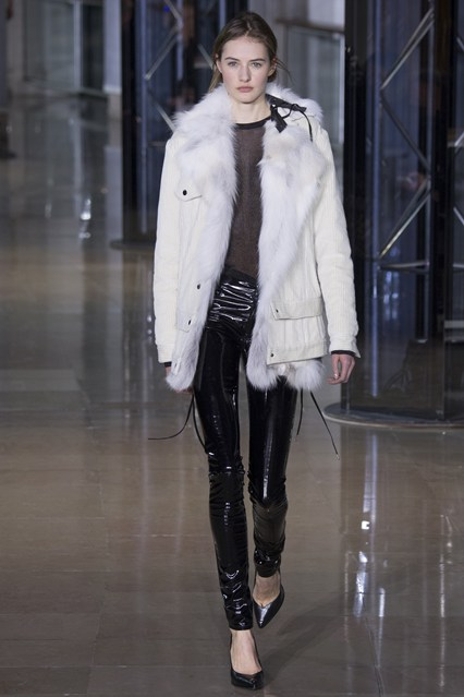 Anthony Vaccarello at PFW
