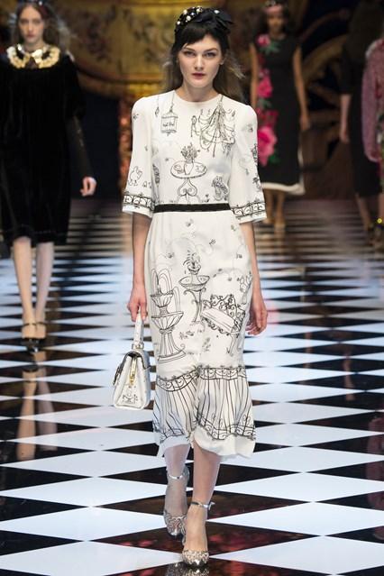 Dolce & Gabbana at MFW