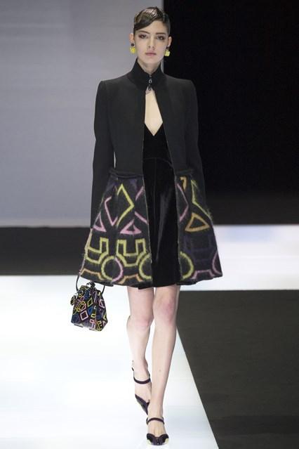 Emporio Armani show at Milan Fashion Week