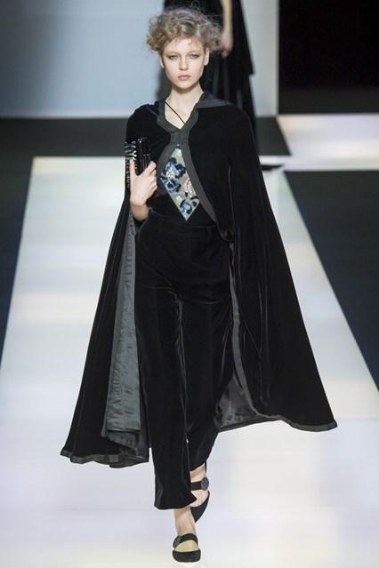 Giorgio Armani at Milan Fashion Week