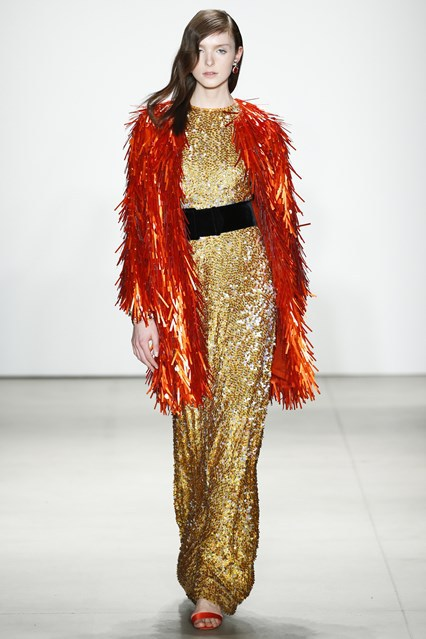 Jenny Packham show at New York Fashion Week
