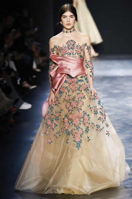 Marchesa show at New York Fashion Week