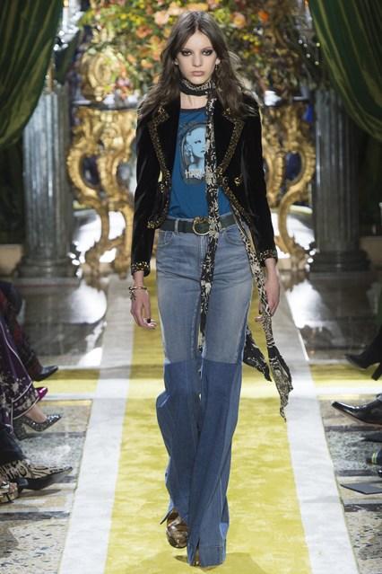 Roberto Cavalli at Milan Fashion Week