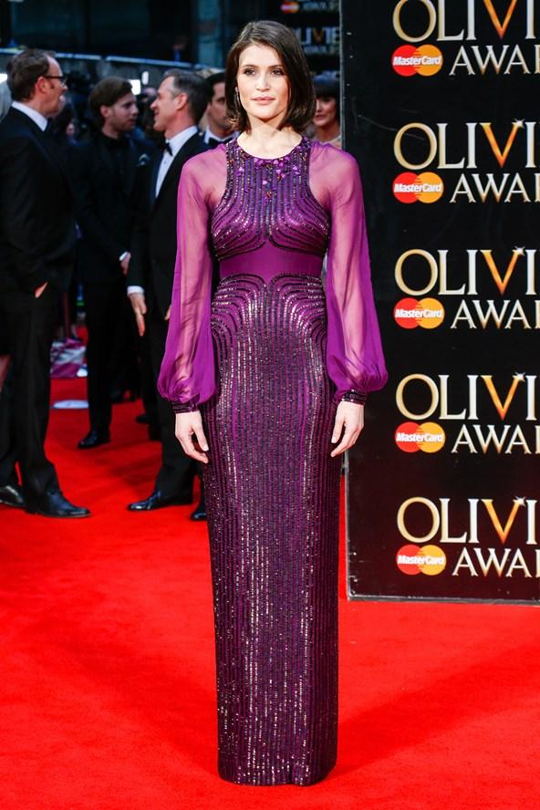 Gemma Arterton in Jenny Packham