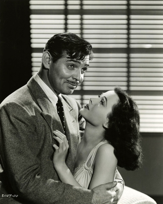 Hedy Lamarr & Clark Gable in Comrade X