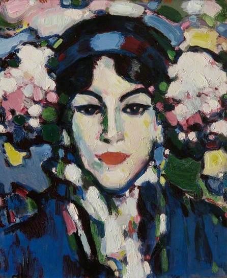 Hortensia by John Duncan Fergusson