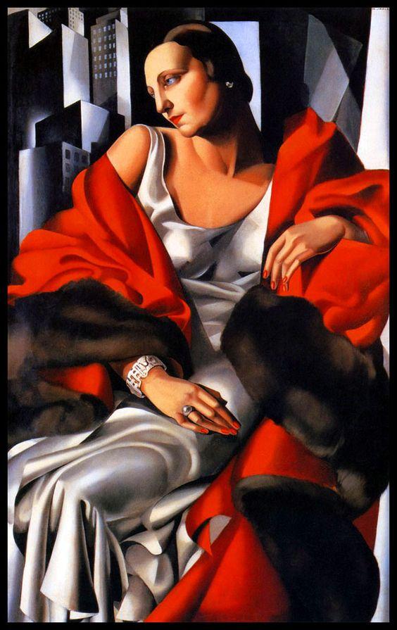 Portrait of Madame Boucard by Tamara de Lempicka