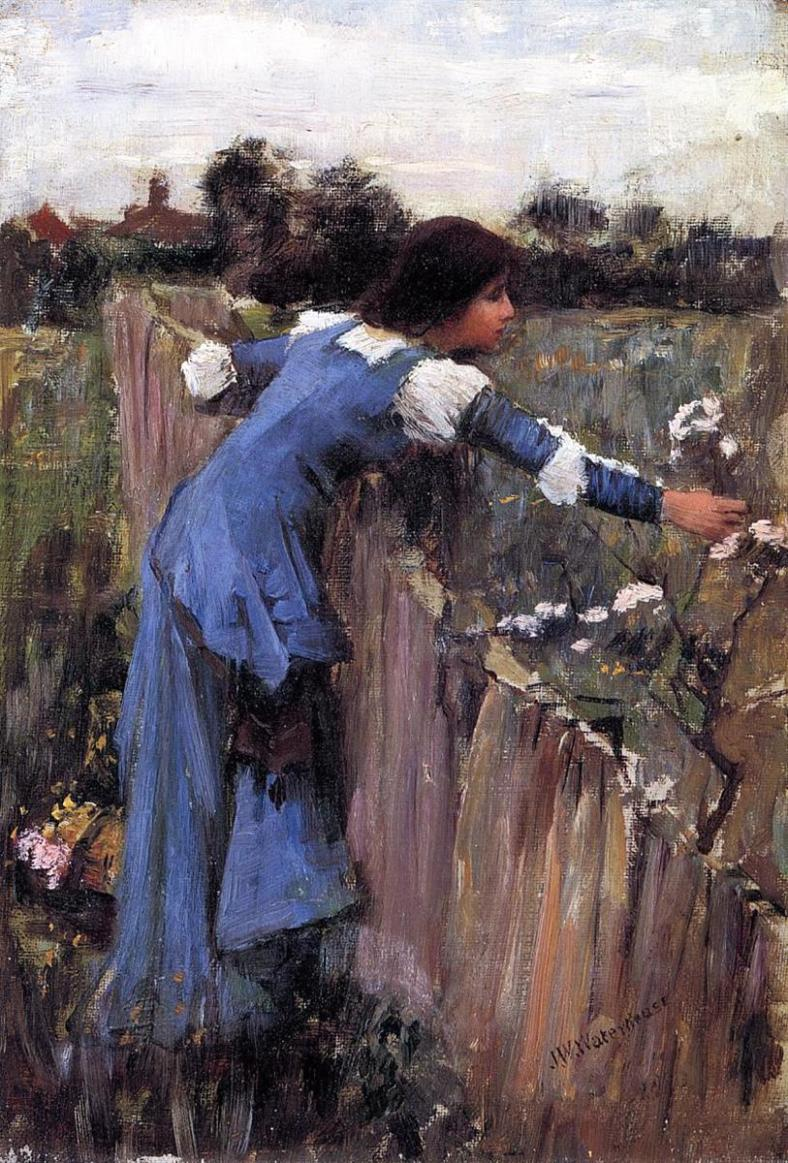 The Flower Picker by John William Waterhouse