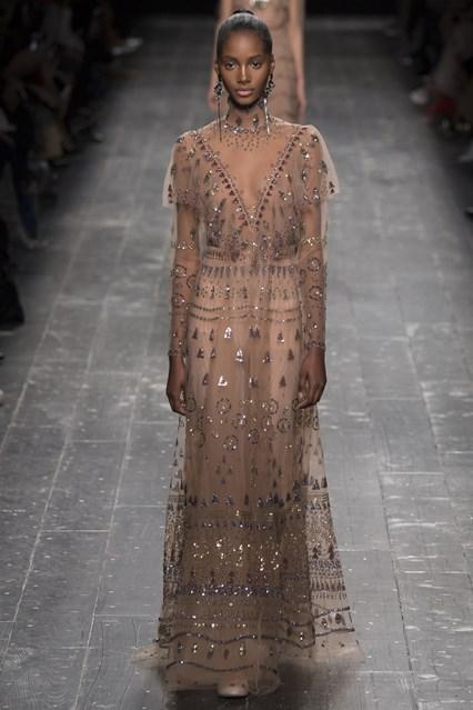 Valentino show at Paris Fashion Week
