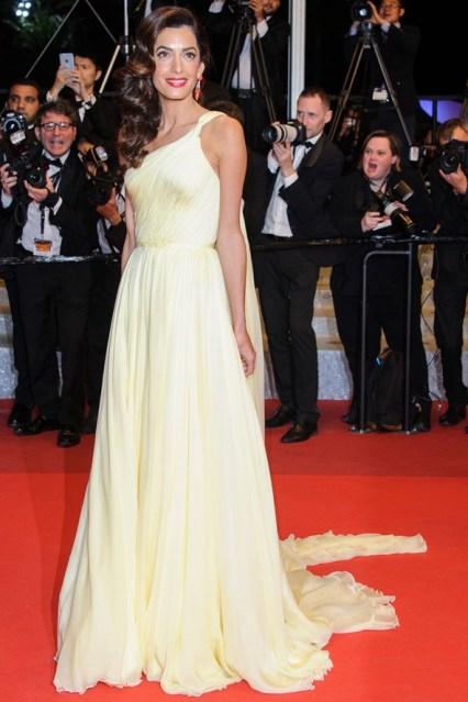 Amal Clooney in Atelier Versace