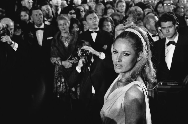 Ursula Andress at Cannes