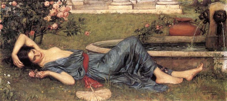 Sweet Summer by John William Waterhouse